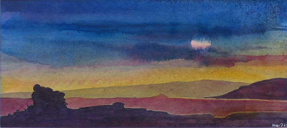 Holwell Tor, Moonrise