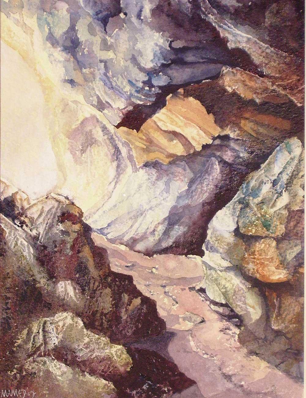 Cave Entrance at Buckfast