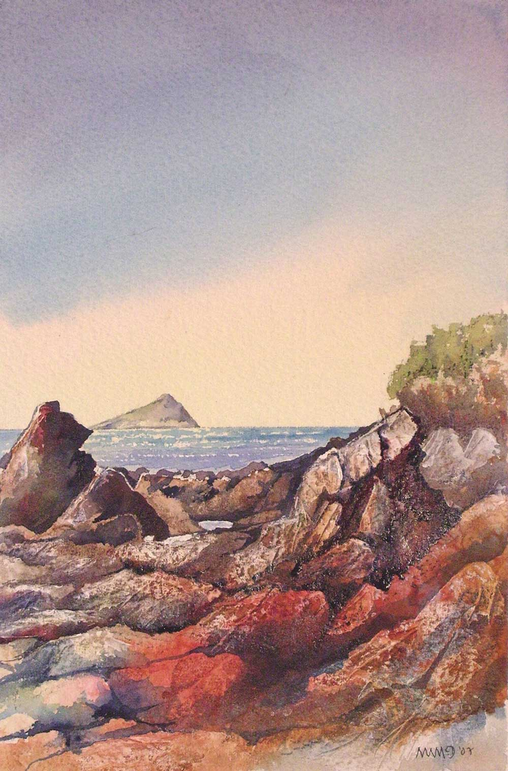 Rocks at Wembury