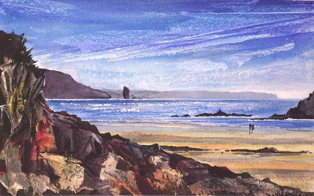Bigbury Coastline